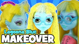 Monster High Doll Makeovers 13 Wishes Lagoona Blue