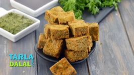 Maharashtrian Kothimbir Vadi, Recipe in Hindi (महरषटरयन कथमबर वड)