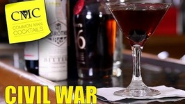 Manhattan Mondays: Civil War / Easy Bourbon Cocktail