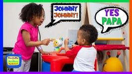 Johnny Johnny Yes Papa  Kyraboo Teaches Kamdenboy to Share