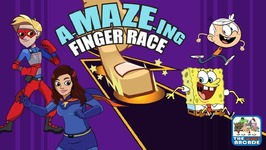 A-maze-ing Finger Race Puzzle Game - Nickelodeon Games