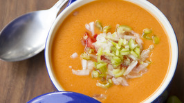 Spanish Gazpacho Soup - My Recipe Book By Tarika Singh