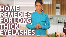 How To Grow Eyelashes Longer And Thicker Naturally  Home Remedies