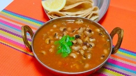 No Oil Curry Making / Black Eyed Peas Curry