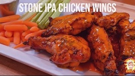 Stone Brewery IPA Chicken Wings / Slow N Sear Kamado Grill