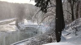Letchworth Park Waterfalls Freeze Over During Bitter Cold Snap