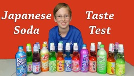 Japanese Ramune Soda Pop Taste Test Review