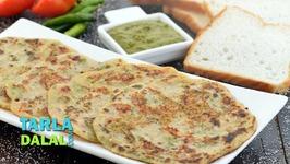 Bread Uttapam - Instant Breakfast