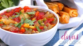 How To Make Easy Homemade Vegetable Soup