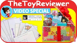 June 2018 Video Special FAN MAIL Shout-outs Giveaway Box Unboxing Toy Review