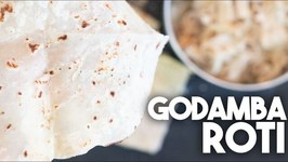 How To Make Godamba Roti - Easy Bread Recipe For Kothu Roti