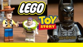 Lego Toy Story 4 - Movie Magic - Woody Buzz Lightyear And Batman - Disney Pixar
