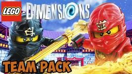 LEGO Dimensions Ninjago - Team Pack - Free Roam  Unboxing (71207)