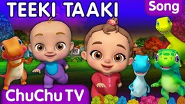 The Teeki Taaki Song- Sing and Dance Songs for Babies- ChuChu TV Funzone 3D Nursery Rhymes