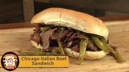 Chicago Italian Beef Sandwich -First Cook On Ihe New Kamado Joe Classic