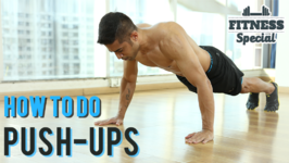 How To Do Perfect Push-Ups For Beginners