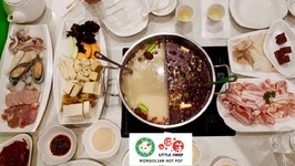 All You Can Eat Mongolian Hot Pot-Gay Family Mukbang - Eating Show