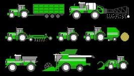 Farm Vehicles - Book Version
