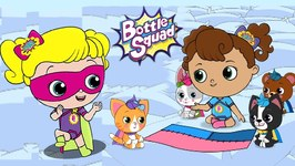 Friends In Need Bottle Squad - Kids Cartoon Video - Superhero Babies
