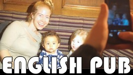 NIGHT OUT IN AN ENGLISH PUB - FAMILY DAILY VLOG