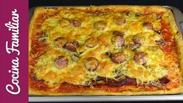 Como hacer pizza casera de jamón ibérico con receta de la masa
