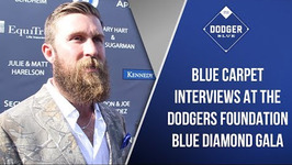 Los Angeles Dodgers Foundation Blue Carpet Gala Interviews