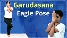 Step By Step Eagle Pose For Beginners - Learn Garudasana In 3 Minutes Easy Yoga Workout Video