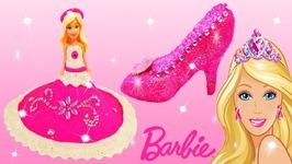 6fc6b82c280 DIY Play Doh Sparkle Barbie Disney Princess Dresses Crown High Heel Shoes  Frozen Elsa Learn Colors