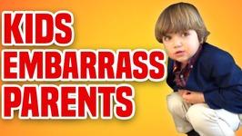 Kids Embarrass Parents - Funny Kids Compilation