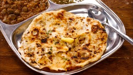 Amritsari Kulcha - Perfect Crispy Layered Aloo Naan In Tawa