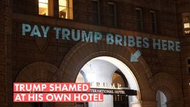 Trump's D.C. hotel had some interesting new decor