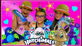 Kids Search for the Golden Hatchimal Hatchimal Surprises