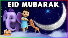 Eid Mubarak Wishes To Everyone - Appu The Yogic Elephant Wishes Happy Ramadan - Eid ul-fitr - 4k - Episode 8