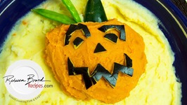 Pumpkin Mashed Potatoes - Halloween Recipe
