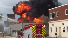 Military Surplus Store Catches Fire in Chatham-Kent, Ontario