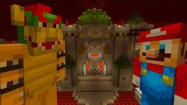 Minecraft Wii U  Mario Series  Mario VS Bowser