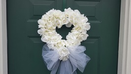 WEDDING WREATH  BRIDAL SHOWER  DOLLAR TREE DIY