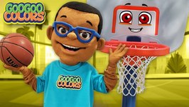 Oh No, Where Is My Basketball? (Learn to Spell Ball With Goo Goo Toonz)