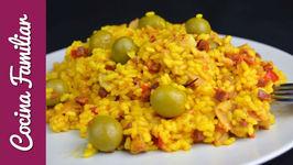Arroz con pata de cerdo, una receta para cocinar arroz deliciosa  Recetas de Javier Romero
