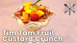 Tim Tam Fruit Custard Crunch - 5 Minute Dessert