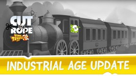 Cut the Rope- Time Travel - Industrial Age Update
