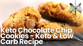Keto Chocolate Chip Cookies - Keto And Low Carb Recipe