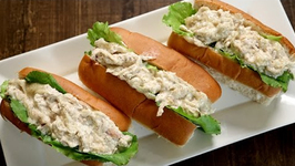 Chicken Mayo Roll - Easy And Quick Snack Recipe - The Bombay Chef - Varun Inamdar