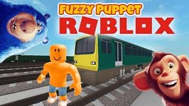 Fuzzy Let's Play Roblox Escape Trains!