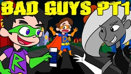 Cruel School Bad Guys Revenge on Super Drew Part 1 - A Stupendous Drew Pendous Superhero Story