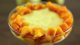 Eggless Mango Mousse - Eggless Recipe - Homemade Dessert Recipe In Marathi By Sonali