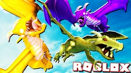 THE PALS TRANSFORM INTO DRAGONS IN ROBLOX!