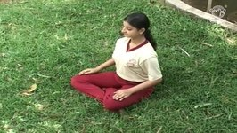 Yoga Exercise for Beginners - Sukha Asana - Easy Pose - Strengthens the Shoulders