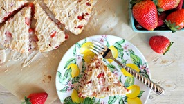 Breakfast Recipe-Strawberries And Cream Scones