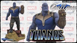 Thanos Marvel MCU Gallery Collection Diorama by Diamond Select Toys